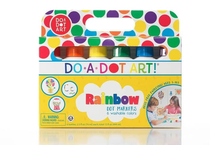 Do A Dot Art Rainbow Washable Paint Markers