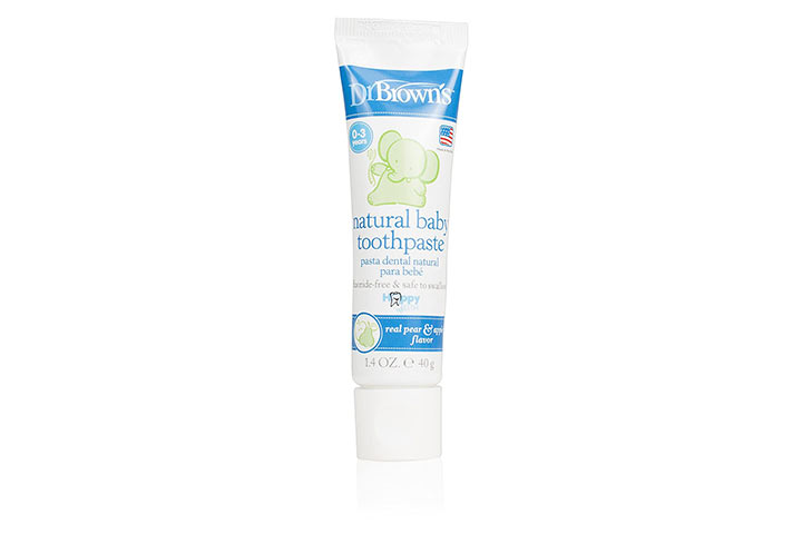 Dr. Brown Natural Baby Toothpaste