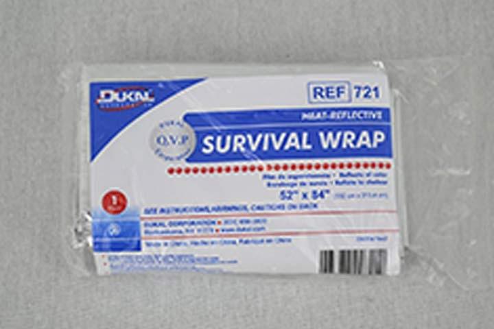 Dukal Heat-Reflective Survival Wrap