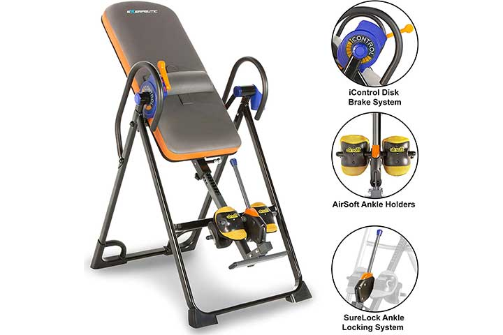 Exerpeutic All-Inclusive Inversion Table