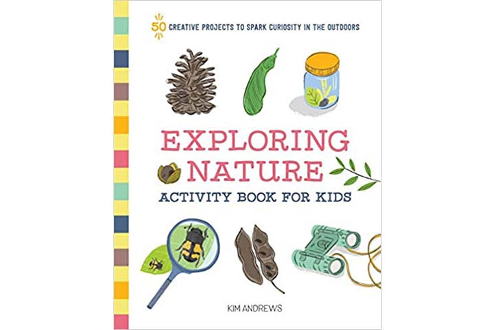 Exploring Nature Activity Book For Kids
