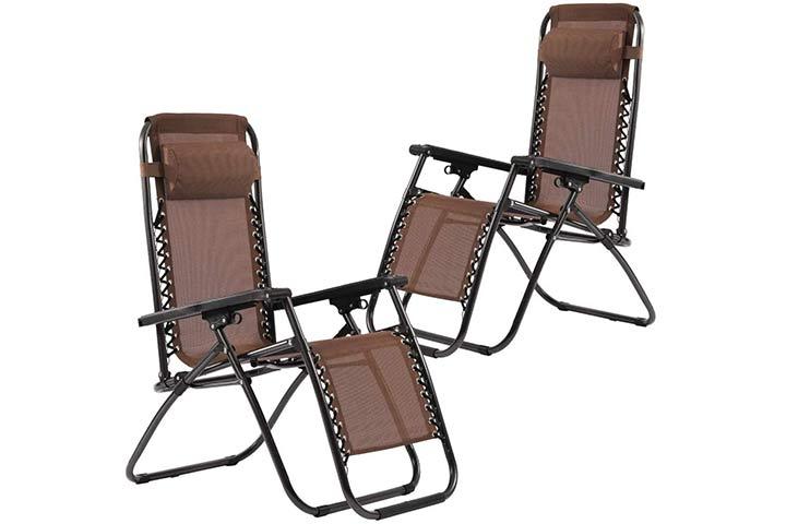 FDW Padded Zero Gravity Chair