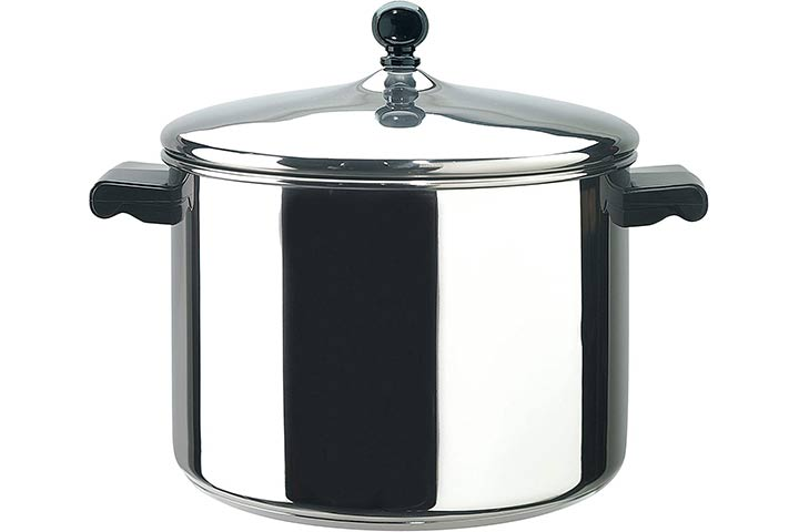 Farberware Classic Stainless Steel Stockpot with Lid