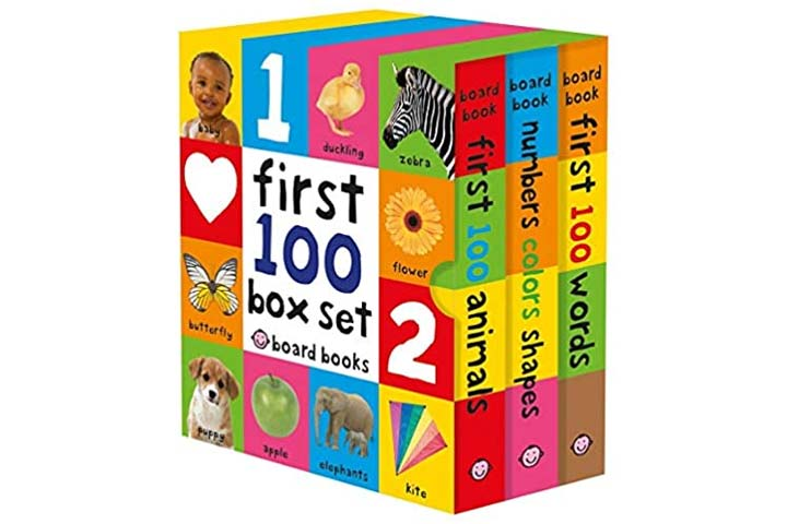 First 100 Board Book Box Set by Roger Priddy