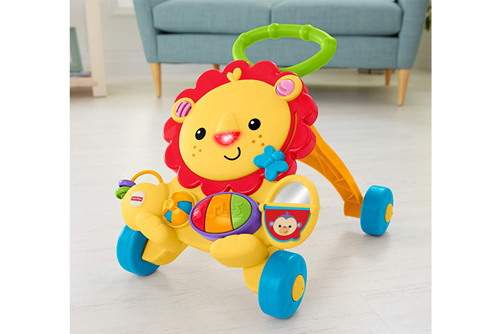 Fisher Price Musical Walker Lion