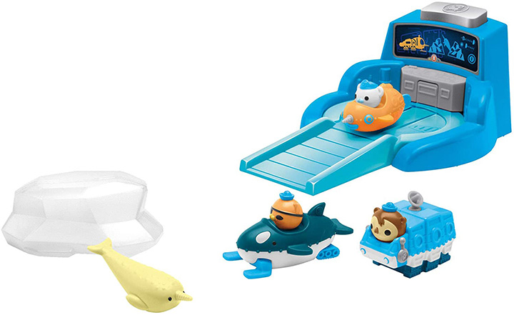 Fisher-Price Octonauts Arctic Gup Speeders Launcher
