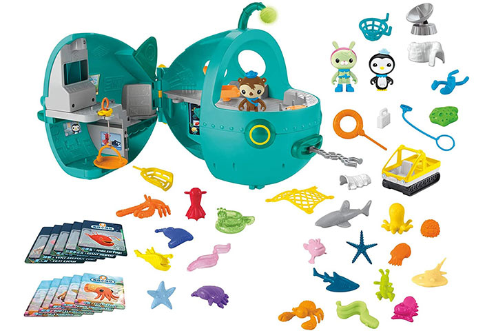 Fisher-Price Octonauts Gup-A Megapack