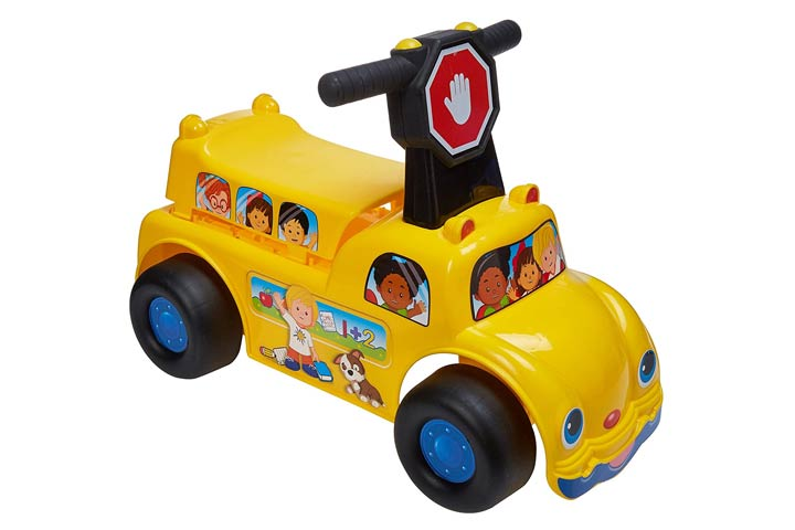 Fisher-Price School Bus Push 'N' Scoot Ride-on