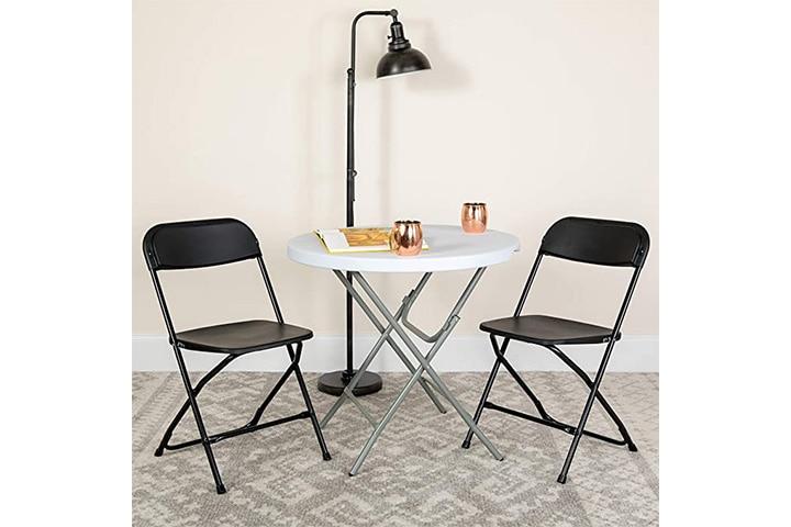 Flash Furniture Hercules Plastic Folding Chair