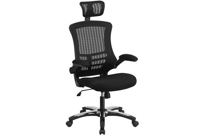 Flash Furniture High Back Office Chair With Adjustable