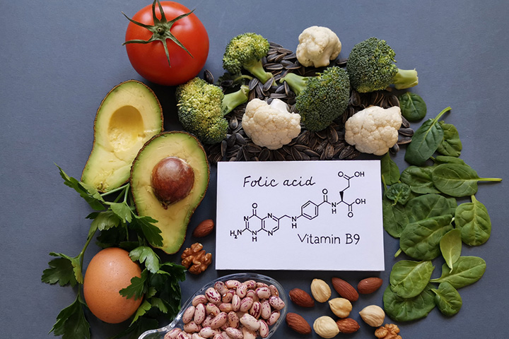 Foods that contain folate are essential for a health