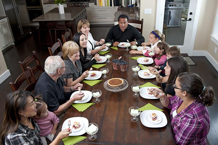 Fun And Engaging Family Dinner