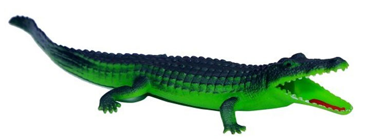 Generic Rubber Crocodile Bath Toy