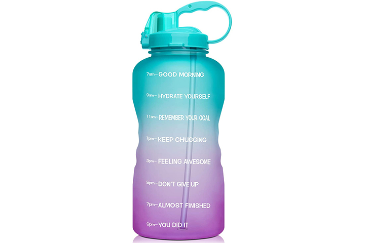 Giotto Large 1 Gallon Motivational Water Bottle