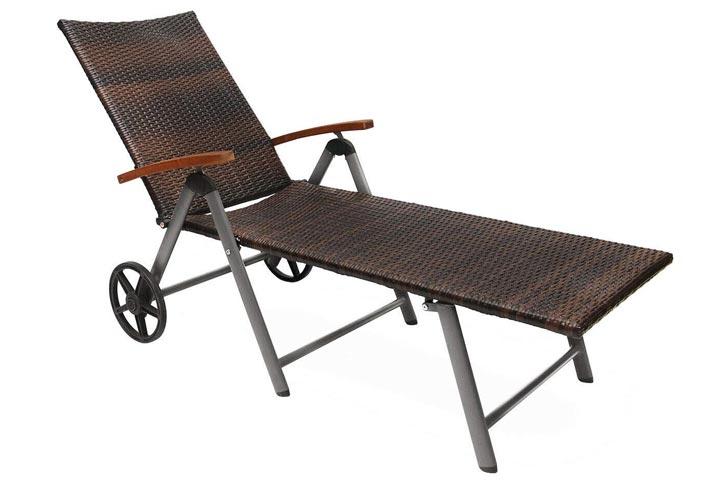 HPW PoolsideGarden Chaise Lounge