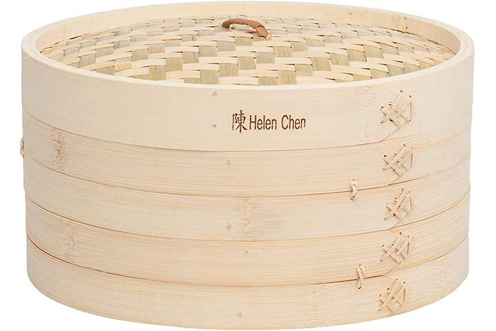 Helen Chen's Asian Kitchen Large Bamboo Steamer