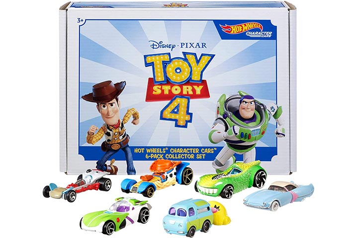 Hot Wheels Disney Pixar Toy Story 4 Character Pack