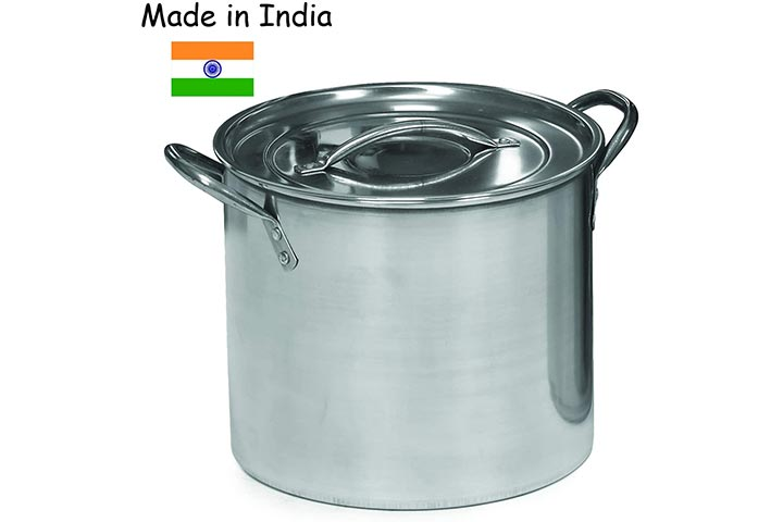 IMUSA USA L300-40315 Stainless Steel Stock Pot