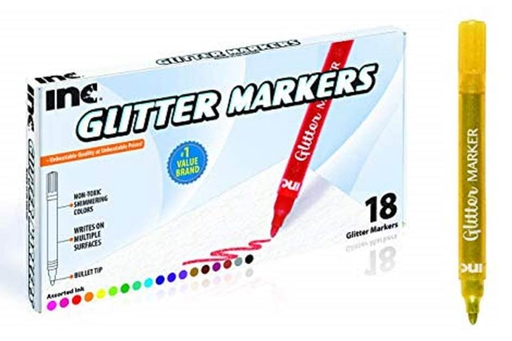 INC Glitter Markers