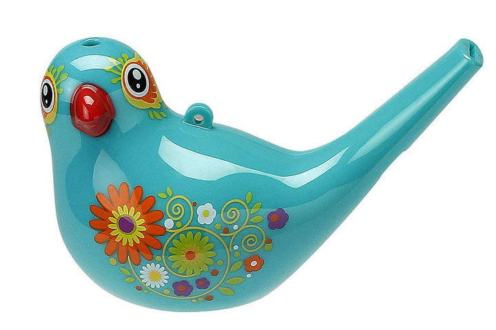 Indusby Bird Whistle Bath Toy