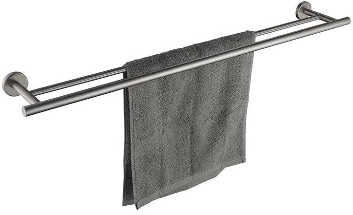 JQK Double Bath Towel Bar