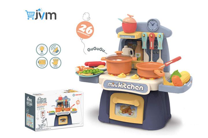 JVM Little Chef Kids Kitchen Play Set