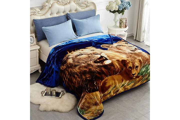 JYK Heavy Korean Mink Fleece Blanket