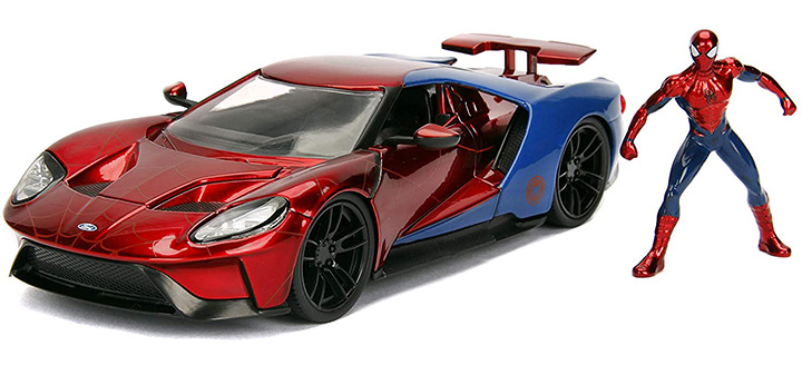 Jada Toys Marvel Spider-Man & Die-Cast Car