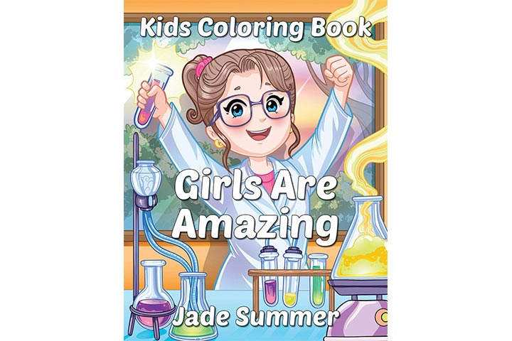 Jade Summer Books Girls Are Amazing Coloring Book