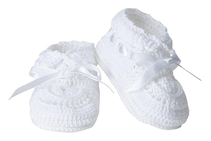 Jefferies Socks Hand Crochet Booties
