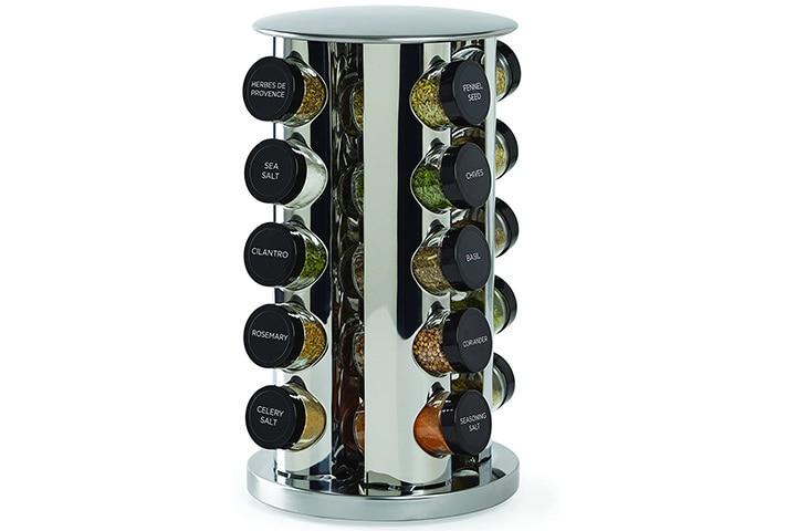 Kamenstein Revolving 20-Jar Countertop Spice Rack