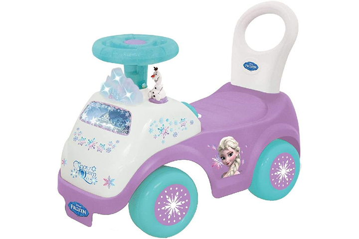 Kiddieland Toys Limited Girls Disney My First Frozen Activity Ride-On