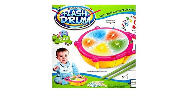 Kids Shop Musical Flash Drum