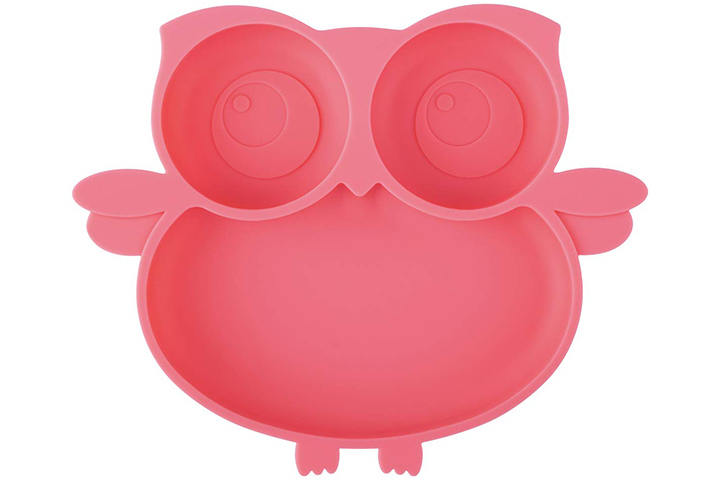 Kirecoo Owl Suction Silicone Plate