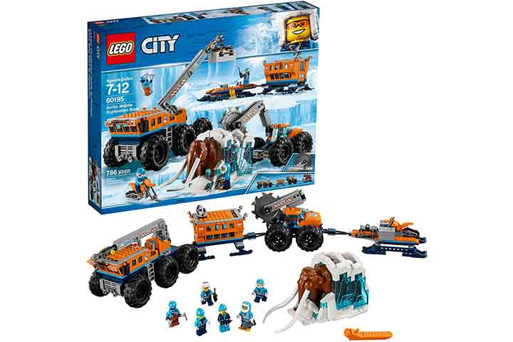 LEGO City Snowmobile Toy And Rescue Game