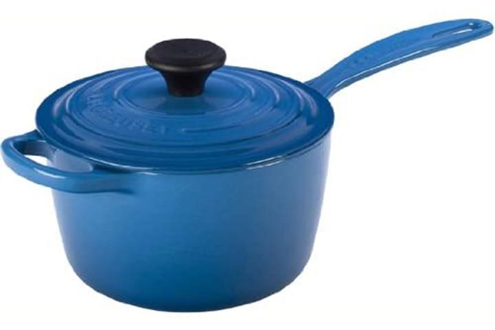 Le Creuset Cast Iron Saucepan