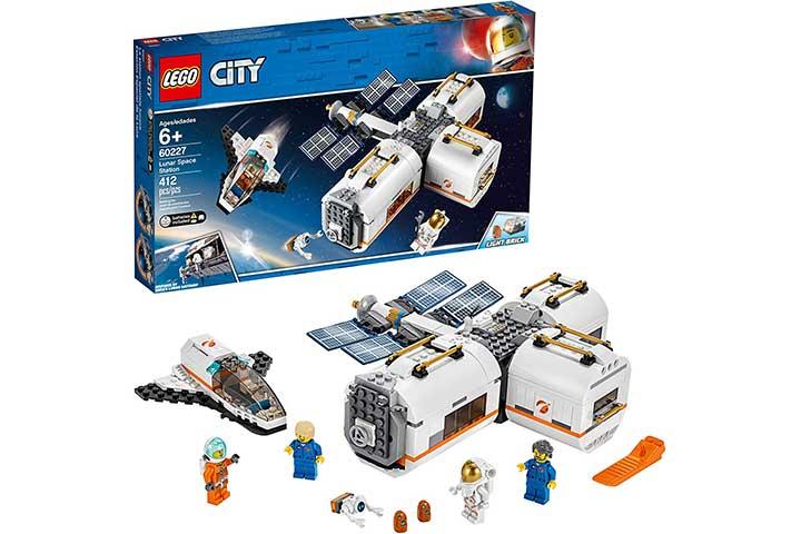 Lego City Space Lunar Space Station Building Set
