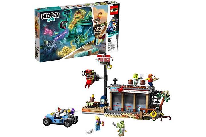 Lego Hidden Side Shrimp Shack Attack Building Set