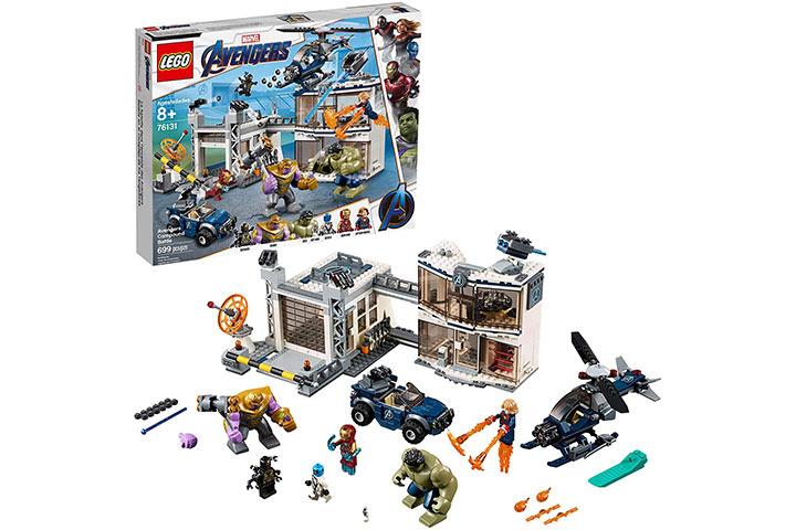 Lego Marvel Avengers Compound Battle Building Set