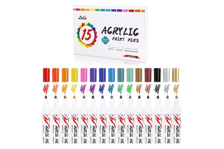 Lelix Acrylic Paint Markers