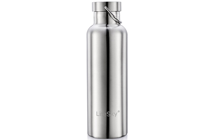 LifeSky Stainless Steel Water Bottle