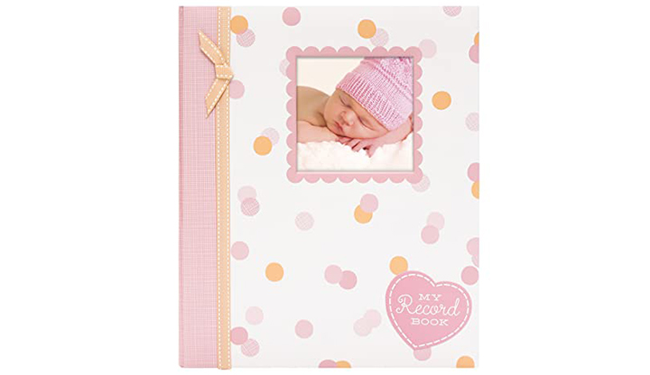 Lil Peach First 5 Years Baby Memory Book