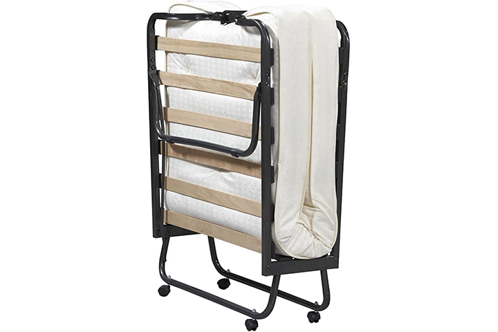 Linon Home Dcor Luxor Folding Bed With Mattress