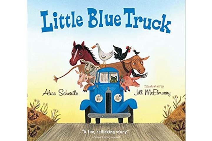 Little Blue Truck Book by Alice Schertle