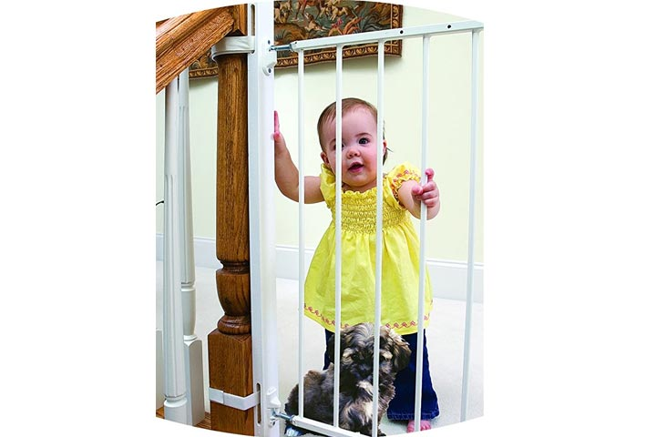Little Partners Wood Easy-Fit Baby Safety Gate