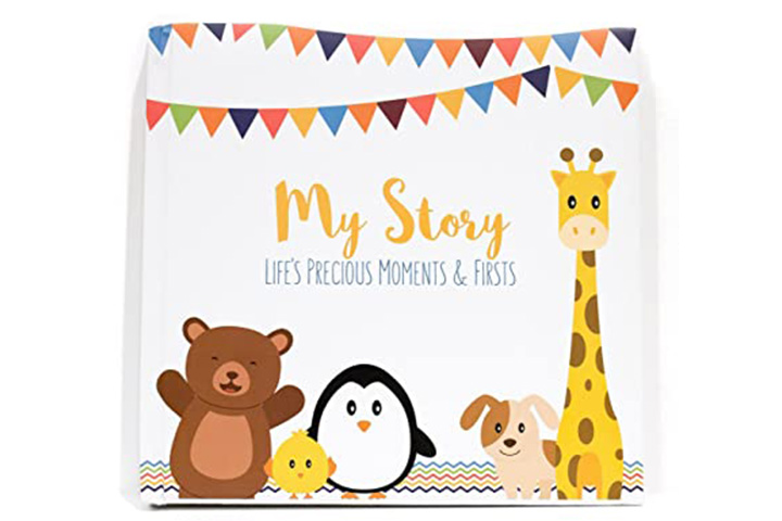 Lovely Sprouts First Year Baby Journal