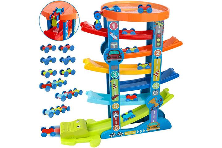 Loyo Toddler Car Ramp Toys