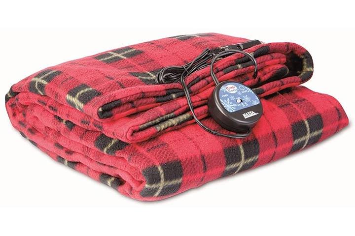 MAXSA 20014 Large Heated Travel Blanket