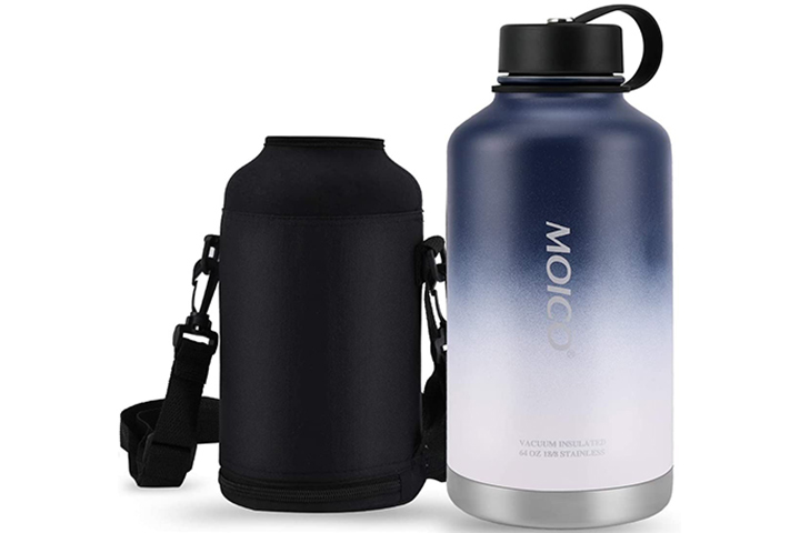 MOICO Double Wall Vacuum Insulated Water Bottle