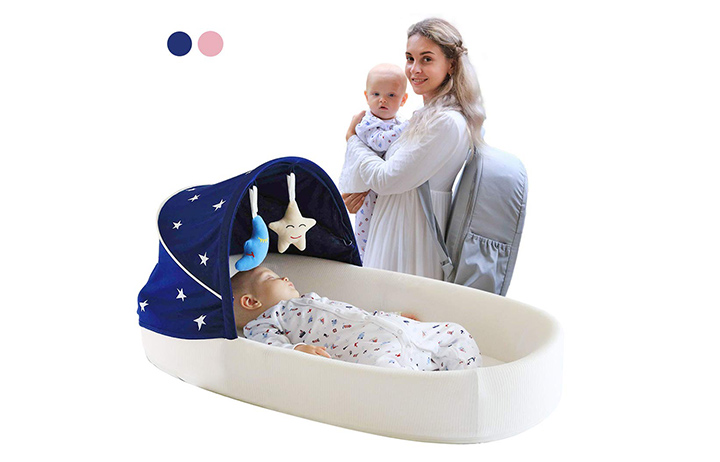 MTWML Travel Baby Bed
